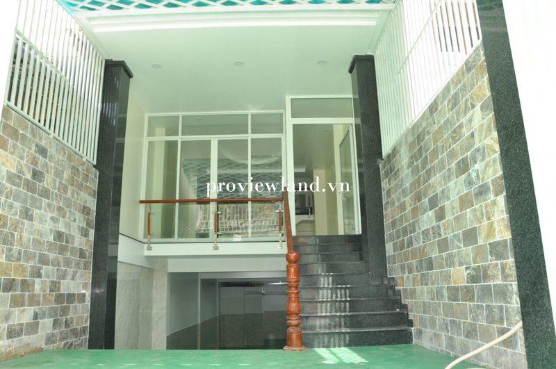 Cho thuê mới xây 1 trệt 3 lầu 8PN DT 336m2 tại đường Giang Văn Minh Quận 2
