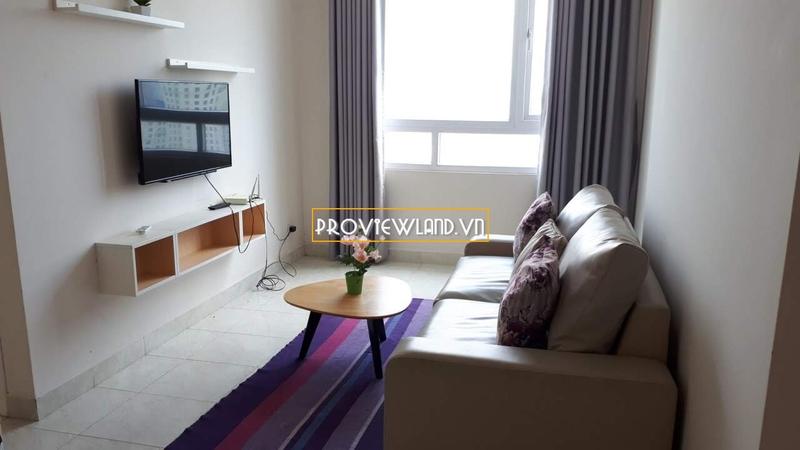 Căn hộ Riverside 90 cho thuê 2 phòng ngủ tầng cao nội thất cao cấp