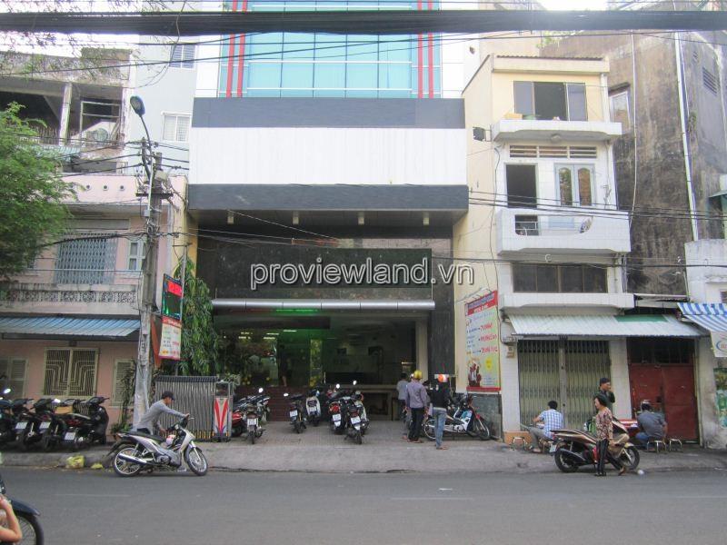 Bán nhà mặt tiền đường Cách Mạng Tháng 8 Quận 3 diện tích 138m2