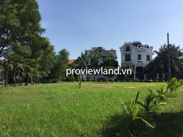 Bán gấp lô đất có diện tích 506m2 mặt tiền đường Nguyễn Văn Hưởng Quận 2