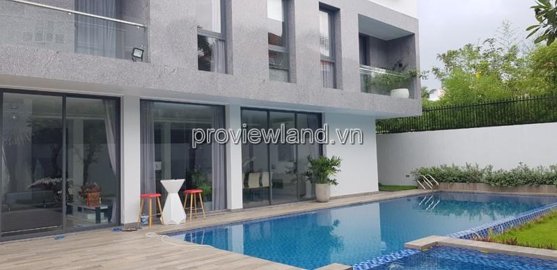 Biệt thự SIÊU SANG tại Thảo Điền cần cho thuê 650m2 4PN hồ bơi sân vườn lớn
