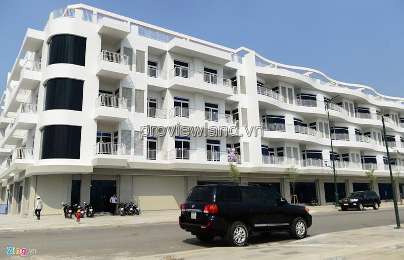 Cho thuê 3 căn shophouse mặt tiền Nguyễn Cơ Thạch 7x19m 1 hầm 4 tầng