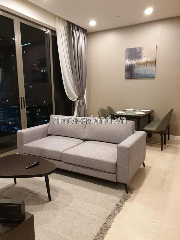 Căn hộ cho thuê The Nassim Thảo Điền 2 phòng ngủ đầy đủ nội thất