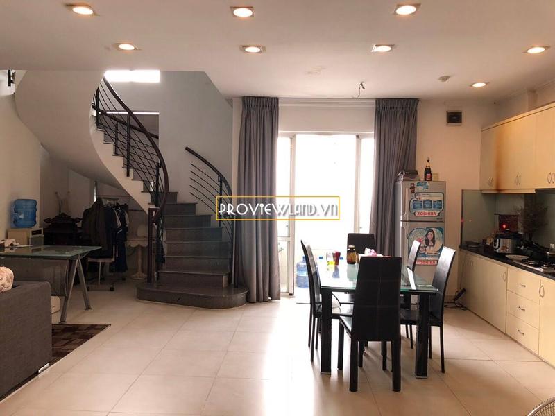 Căn hộ Penthouse Central Garden Quận 1 cho thuê 2 tầng 2 phòng ngủ cao cấp
