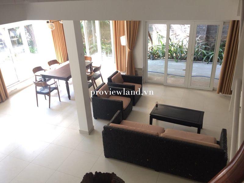 Cho thuê nhà đường Quốc Hương Q.2 có diện tích 190m2 4 phòng ngủ full nội thất