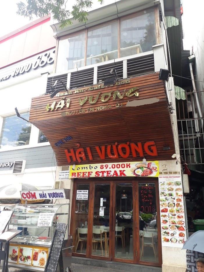 Bán nhà mặt tiền đường Nguyễn Thị Nghĩa Quận 1 diện tích 157m2 1 trệt 3 lầu
