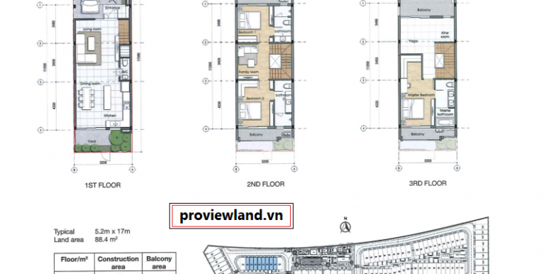 Palm-Residence-Townhouse-Villa-for-rent-3beds-3floor-proviewland-190319-019
