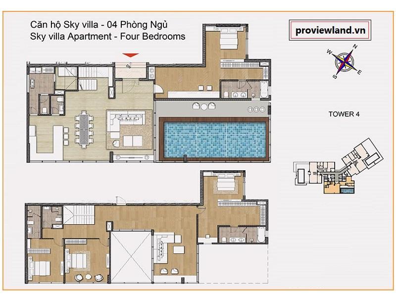Sky-Villa-Diamond-Island-apartment-for-rent-2floor-4Beds-proviewland-180319-17