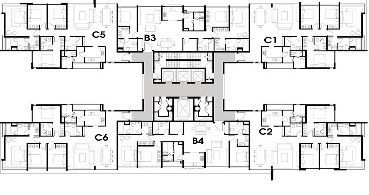 Tầng 16-20 T3-T5 Vista