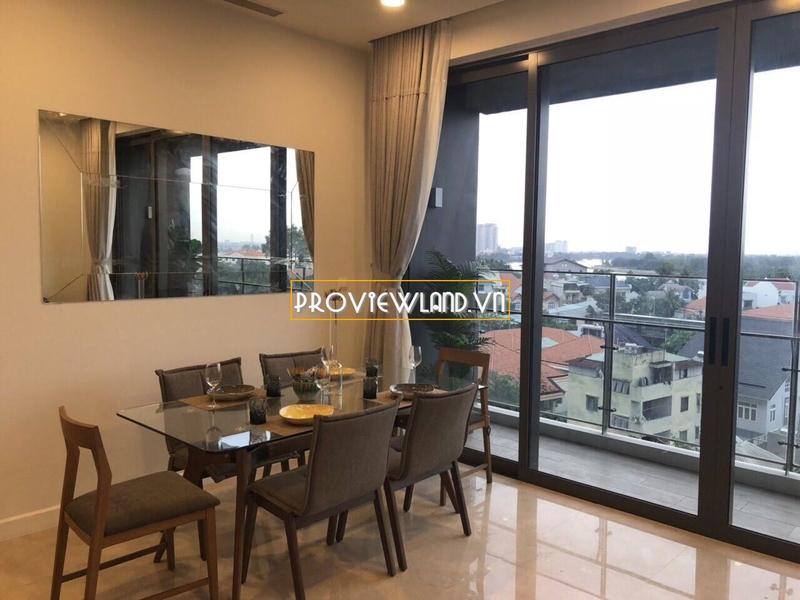 The Nassim Thảo Điền cho thuê căn hộ siêu sang 3 phòng ngủ view sông