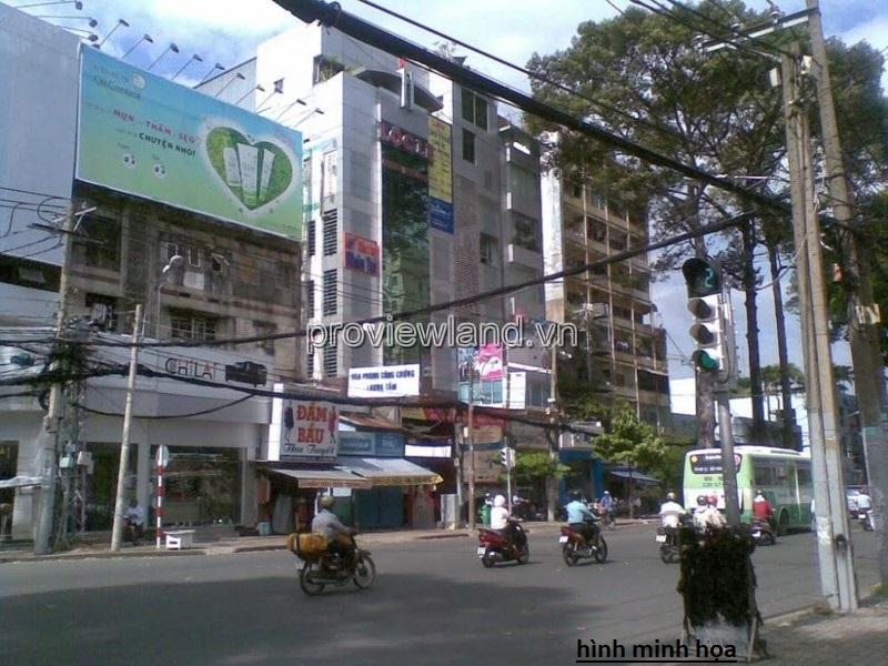 Bán lô đất ngay trung tâm Quận 3 MT Nguyễn Thị Minh Khai 86m2
