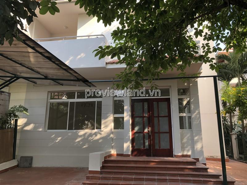 Cho thuê biệt thự Mỹ Quang Quận 7 290m2 4 phòng ngủ nội thất dính tường
