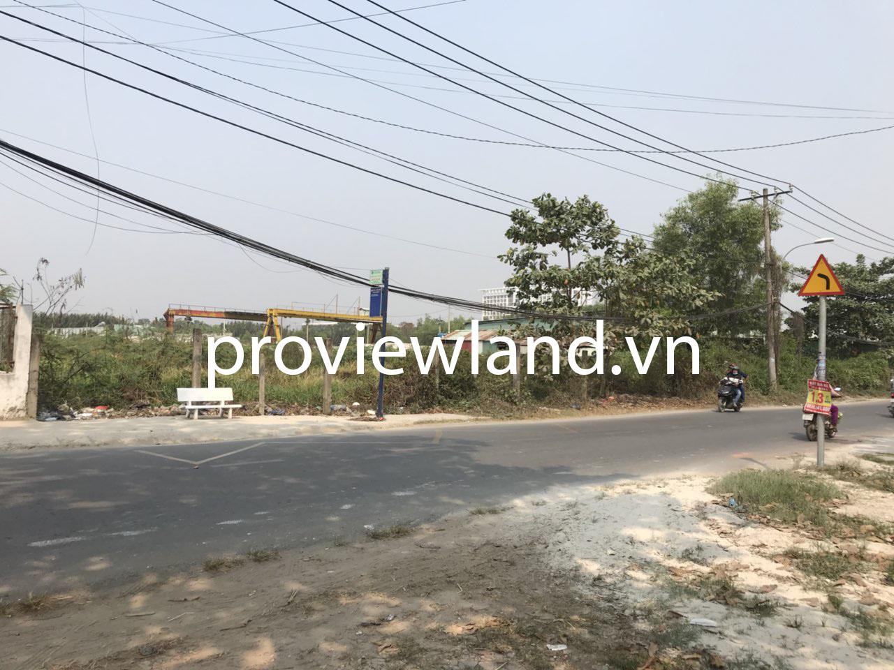 Bán lô đất 2 mặt tiền 7000m2 khúc Lã Xuân Oai và Nguyễn Duy Trinh Quận 9