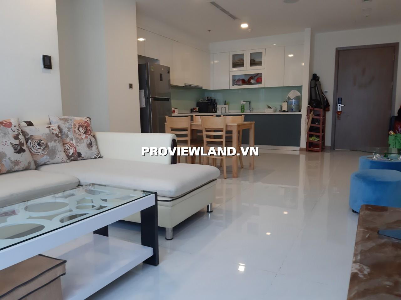 Cho thuê căn hộ Vinhomes Central Park Landmark 6 2 phòng ngủ view thành phố