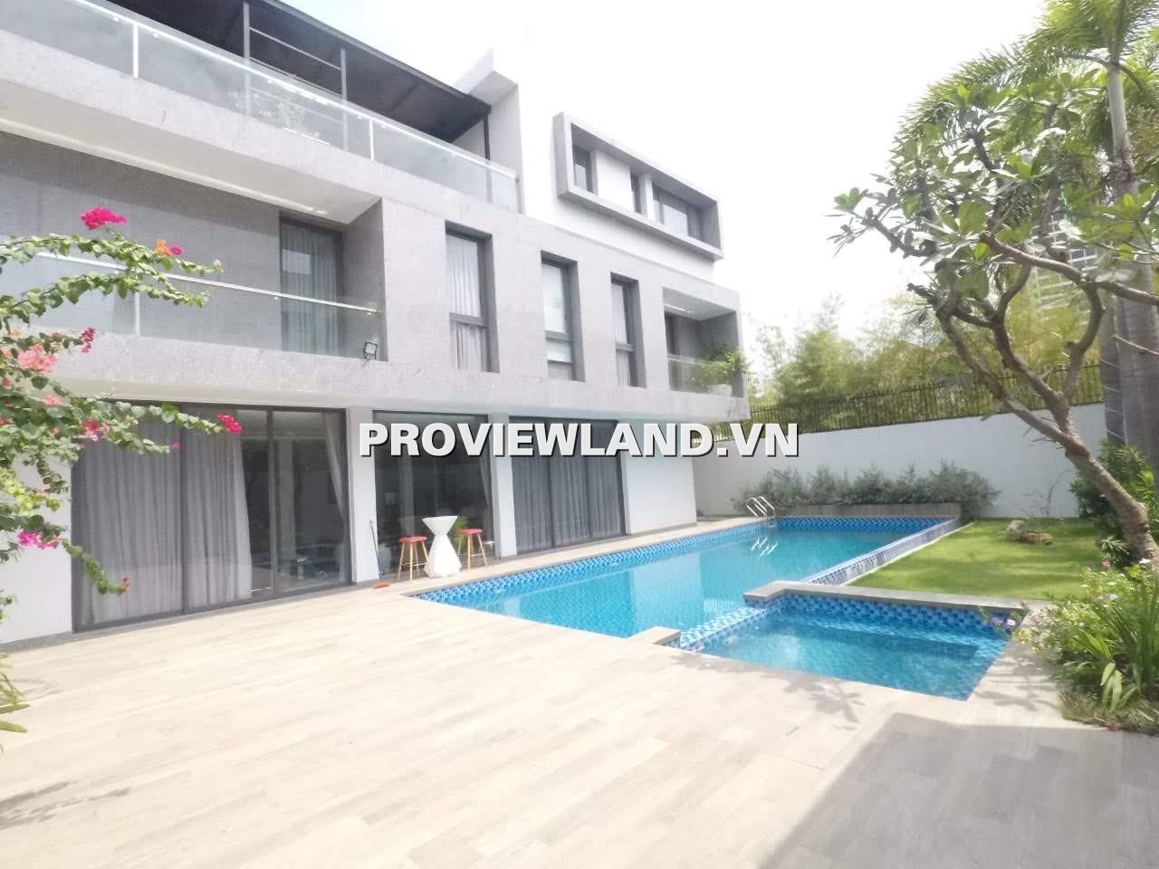 Cho thuê Villa Thảo Điền Siêu Hiện Đại 1 trệt 2 lầu 750m2 hồ bơi riêng sân vườn tuyệt đẹp