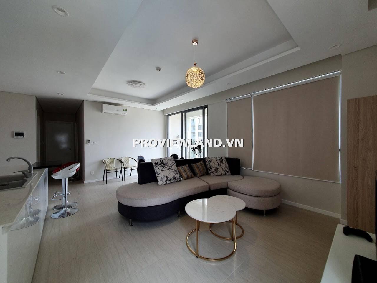 Cho thuê căn hộ Đảo Kim Cương 2 phòng ngủ  full nội thất view hồ bơi