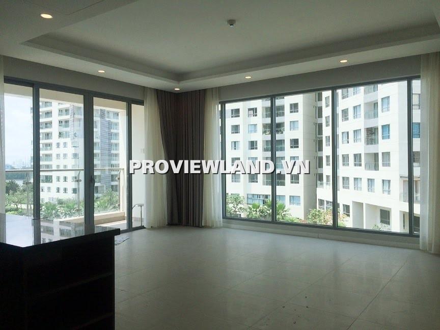 Cho Thuê căn hộ Đảo Kim Cương 3 phòng ngủ 124m2 nội thất cơ bản view hồ bơi