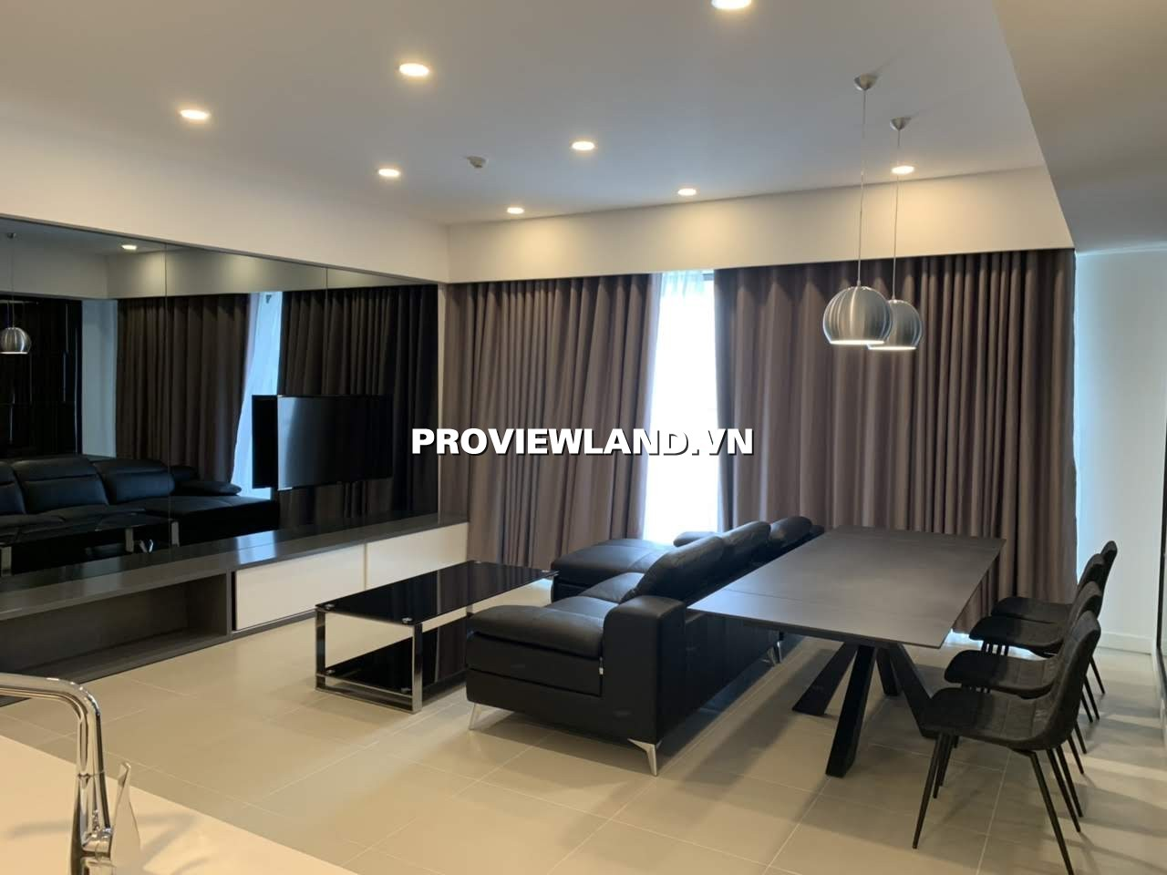 Cho thuê căn hộ Gateway Thảo Điền 2 phòng ngủ nội thất cao cấp view thoáng
