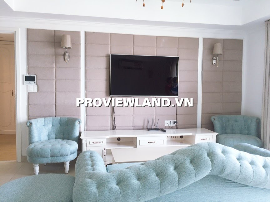 Cho thuê căn hộ Masteri Thảo Điền 3 phòng ngủ full nội thất 90m2 view sông
