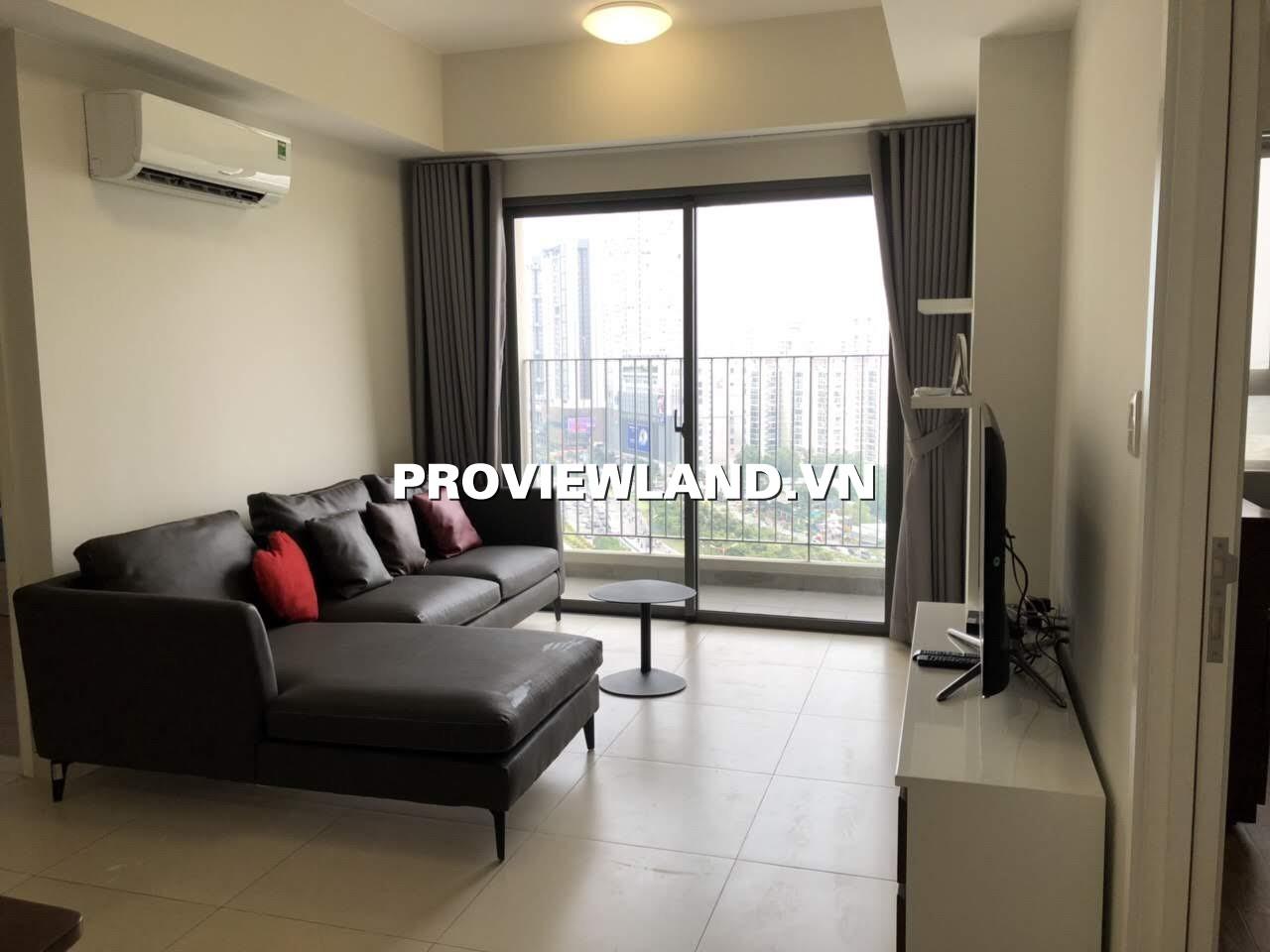 Cho thuê căn hộ Masteri Thảo Điền 2 phòng ngủ full nội thất view thoáng