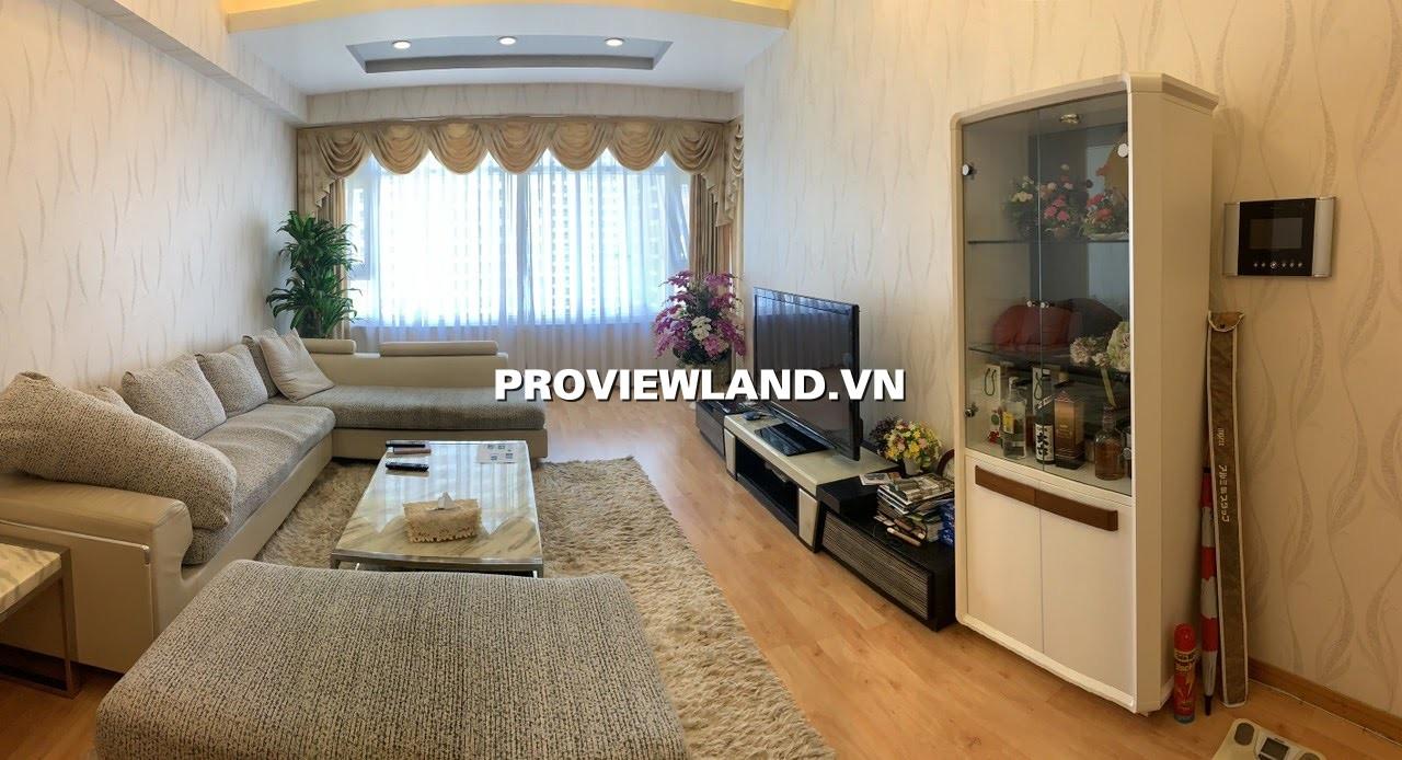 Cho thuê căn hộ Saigon Pearl Tòa Ruby 2 3 phòng ngủ nội thất đẹp view sông