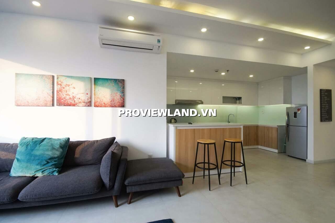 Cho thuê căn hộ Tropic Garden 3 phòng ngủ 112m2 full nội thất nhà mới