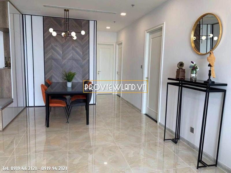 Cho thuê căn hộ Vinhomes Central Park 4 phòng ngủ căn góc