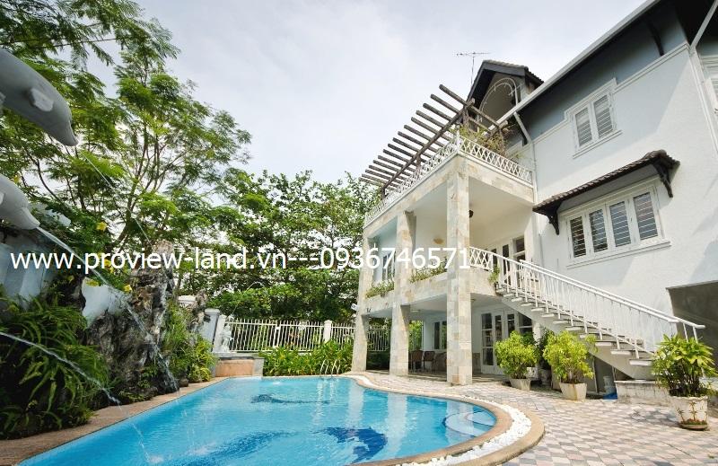 Bán biệt thự Thảo Điền MT Nguyễn Văn Hưởng 700m2 đất thổ cư 100%