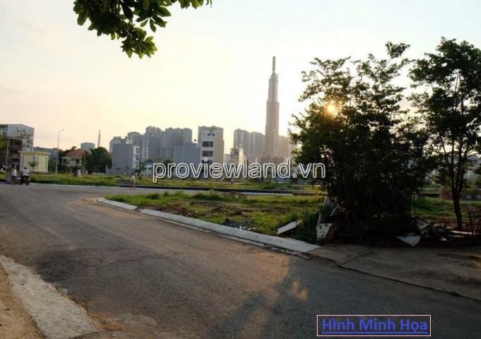 Bán đất 1276m2 mặt tiền khu Trần Não Quận 2 pháp lý sổ hồng