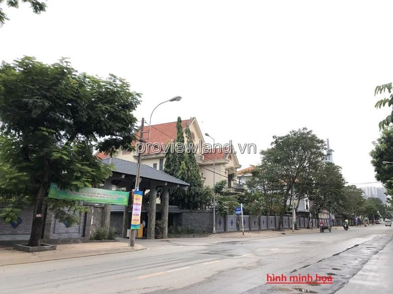 Bán đất mặt tiền đường Trần Ngọc Diện Quận 2 diện tích 1343m2 xây được cao tầng