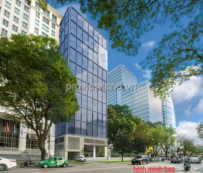 Bán văn phòng Quận 1 gần khách sạn New World DT 800m2 2 hầm 9 tầng sổ hồng