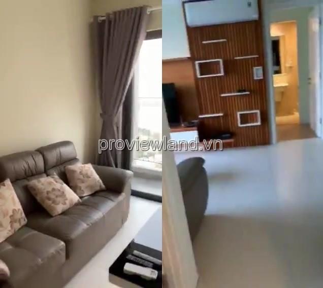 Cho thuê căn hộ Masteri Thảo Điền 2 phòng ngủ view sông 71 m2 diện tích