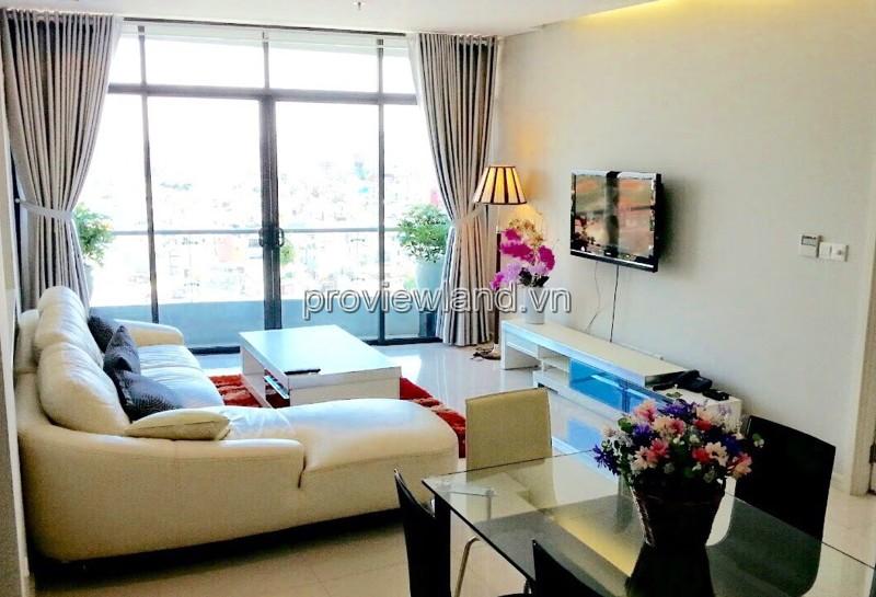 Cho thuê căn hộ City Garden 145m2 diện tích 3 phòng ngủ nội thất cực đẹp