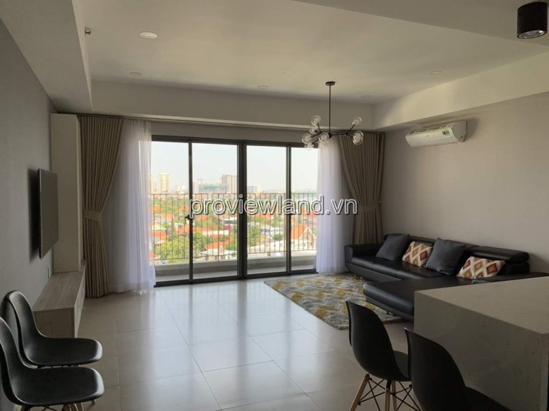 Căn hộ cho thuê tại Masteri Thảo Điền view sông 89m2 3 phòng ngủ