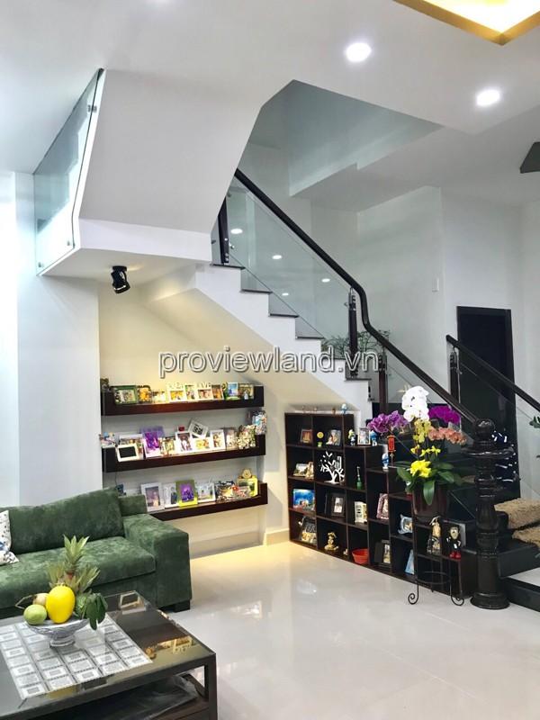 Cho thuê nhà Thảo Điền Quận 2 7x11m 3 tầng 4PN đầy đủ nội thất