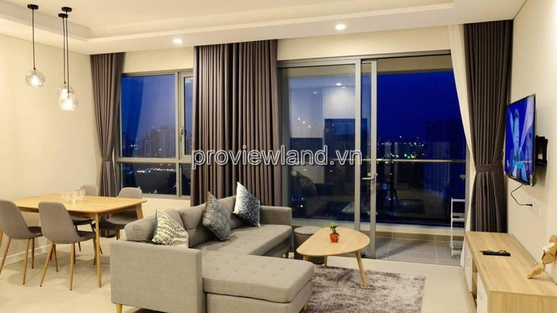 Diamond Island căn hộ cho thuê tầng cao view sông 91m2 2PN
