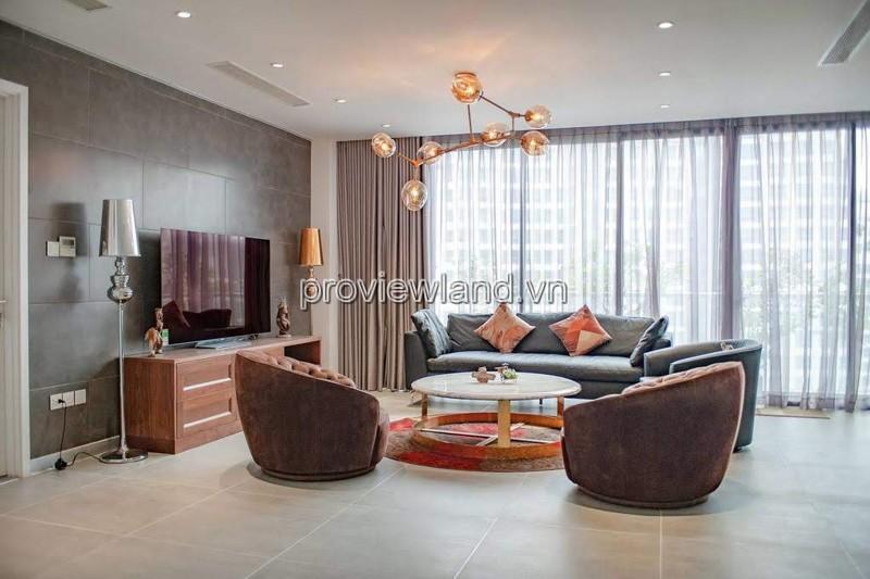 Cho thuê căn duplex/ Penthouse Saigon Pearl 500m2 3PN lớn 3 tầng