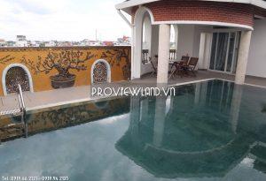 Ban Biet thu villa Duong so 10 Thu Duc 3 tang san vuon ho boi