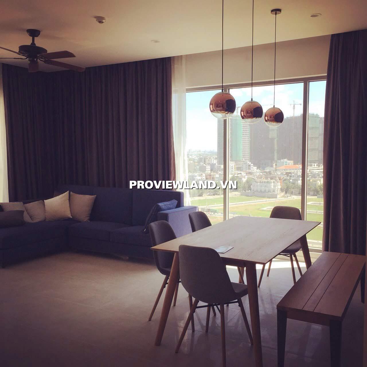 Cho thuê căn hộ Đảo Kim Cương 3 phòng ngủ 117m2 full nội thất view thoáng