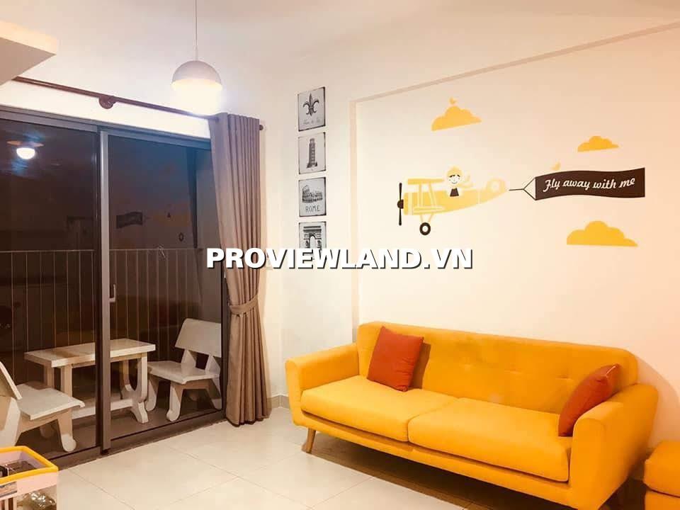 Cho thuê căn hộ Masteri Thảo Điền 2 phòng ngủ tầng cao full nội thất