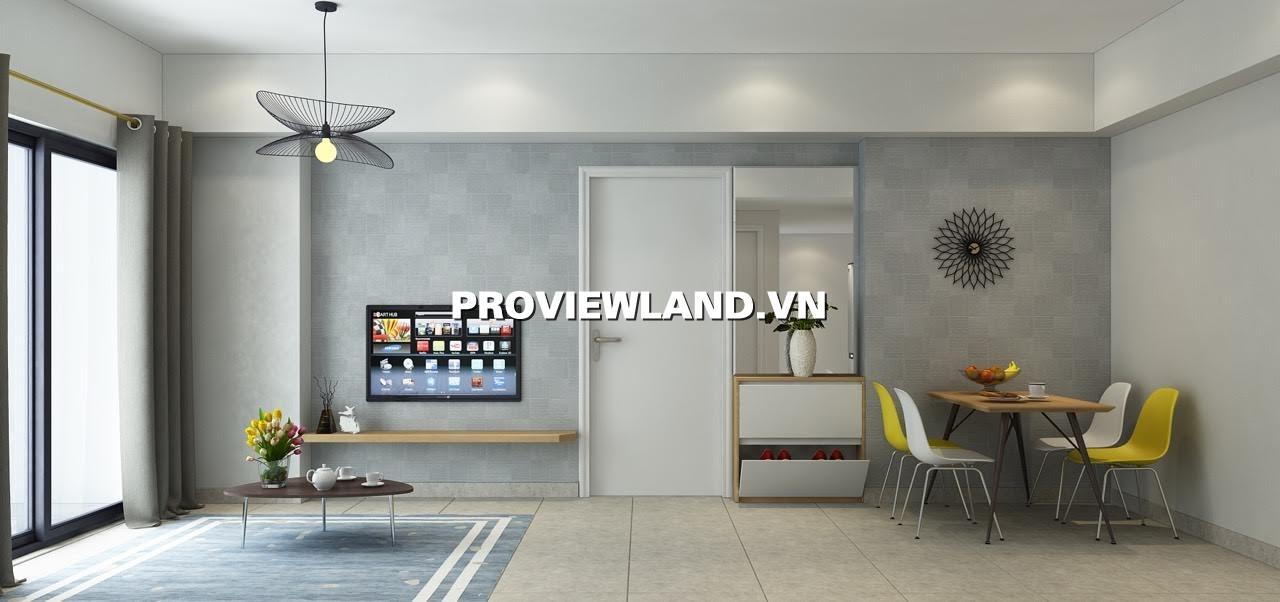 Cho thuê căn hộ 2 phòng ngủ nội thất đầy đủ 70m2 tại Masteri Thảo Điền