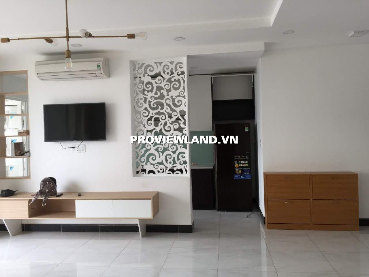 Cho thuê căn hộ Tropic Garden 3 phòng ngủ diện tích 112m2 full nội thất