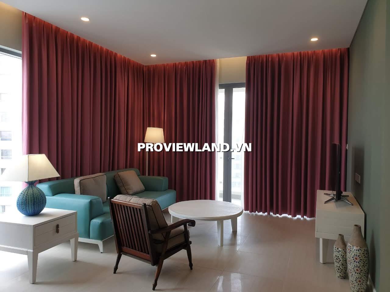 Cho thuê căn hộ Đảo Kim Cương 3 phòng ngủ 117m2 nội thất cao cấp view hồ bơi