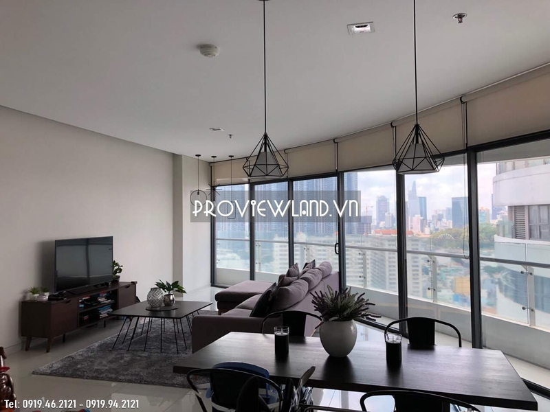 City Garden apartment for sale in Binh Thanh District 140sqm 3 bedrooms nice view