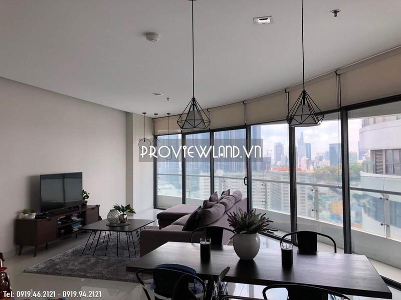 Căn hộ view góc rộng với 3 phòng ngủ cho thuê tại City Garden