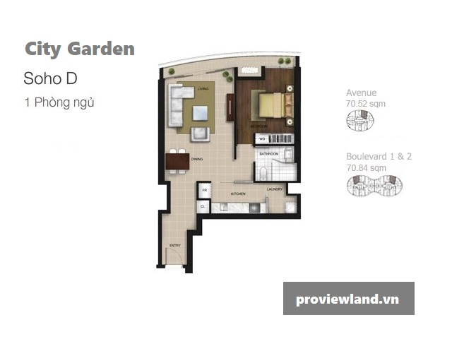 City-garden-layout-Mat-bang-Boulevard-Avenue-1pn-71m2