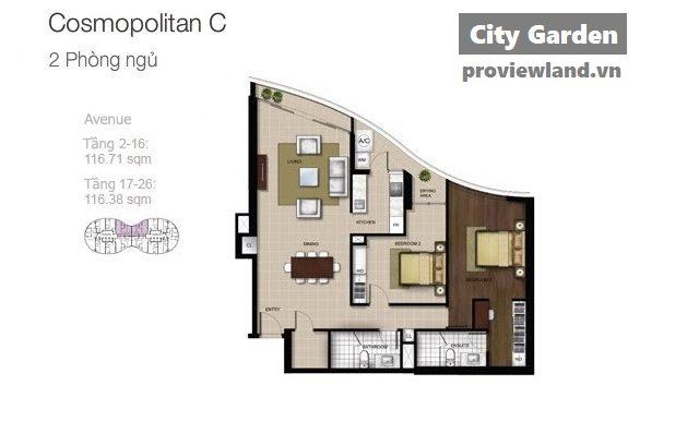 City-garden-layout-Mat-bang-Boulevard-Avenue-2pn-117m2