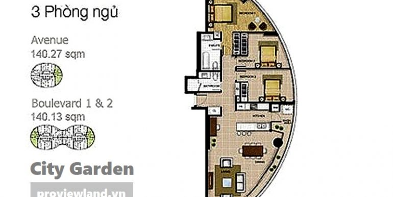 City-garden-layout-Mat-bang-Boulevard-Avenue-3pn-140m2