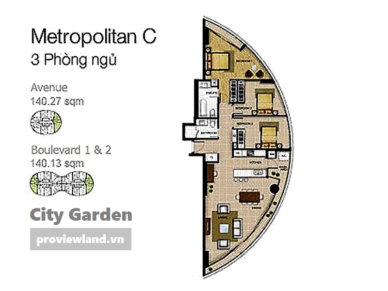 City-garden-layout-Mat-bang-Boulevard-Avenue-3pn-140m2