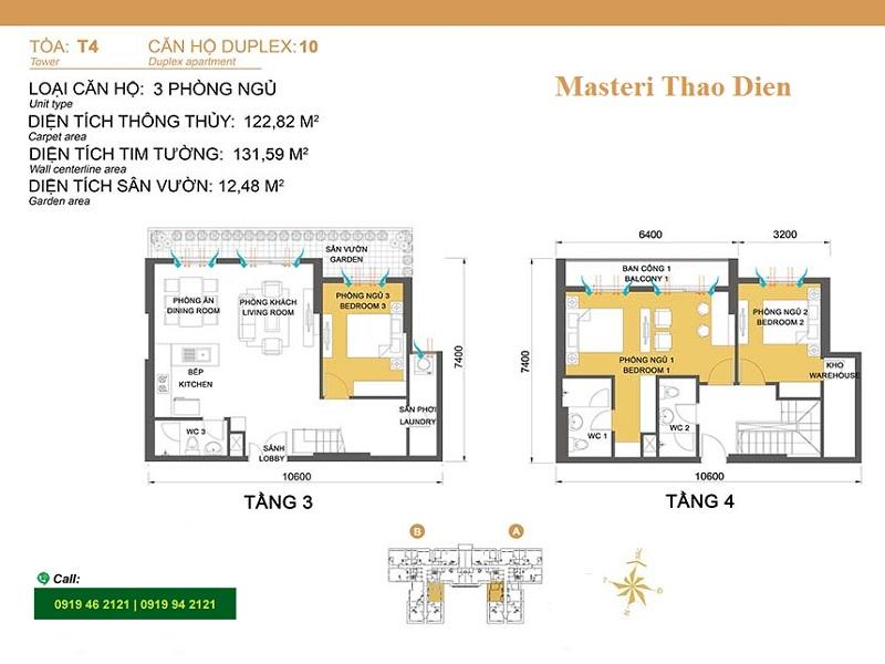 Masteri-Thao-Dien-Mat-bang-layout-T4-duplex10-3pn-131m2